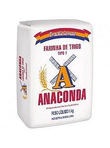 FARINHA DE TRIGO - ANACONDA - 1kg