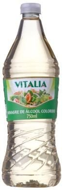 VINAGRE ALCOOL COLORIDO - VITALIA - 750mL