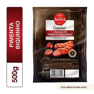 Linguiça gourmet pimenta biquinho - Seara - 500g