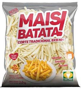 BATATA PRE FRITA - MAIS BATATA - 2kg