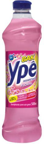 DESINFETANTE BAK FLORAL - YPE - 500mL