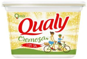 MARGARINA COM SAL - QUALY - 500g