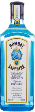 GIN SAPPHIRE - BOMBAY (750mL)