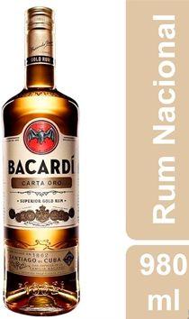 RUM CARTA ORO - BACARDI (980mL)