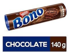 BISCOITO RECHEADO BONO SABOR CHOCOLATE - NESTLE - 126g