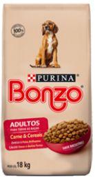 ALIMENTO PARA CÃES SABOR CARNE - BONZO (18kg)