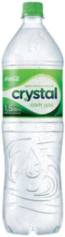 AGUA MINERAL COM GAS - CRYSTAL - 1,5L