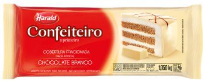 COBERTURA DE CHOCOLATE BRANCO - HARALD - 1,050kg