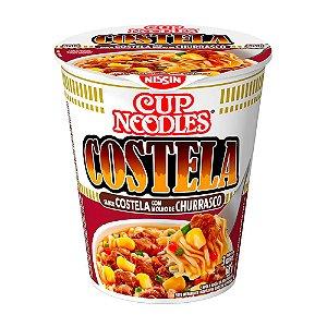 Macarrao instantaneo sabor costela churrasco - Cup noodles - 68g