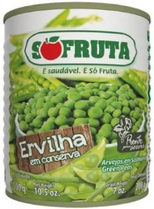 ERVILHA EM LATA - SO FRUTA - 170g