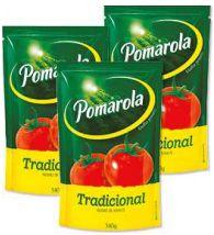 MOLHO DE TOMATE - POMAROLA - 340g