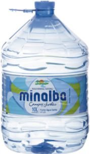 AGUA MINERAL - MINALBA - 10L