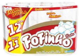 PAPEL HIGIENICO - FOFINHO - 12un