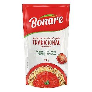Molho de tomate tradicional - Bonare - 340g