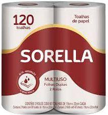 PAPEL TOALHA - SORELLA - 2UN