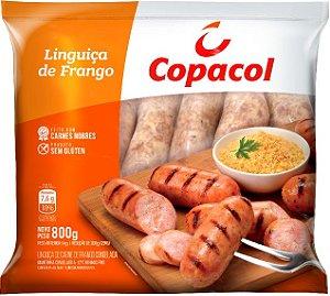 Linguiça de frango fina - Copacol - 800g