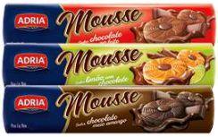 BISCOITO MOUSSE CHOCOLATE AO LEITE - ADRIA - 130g