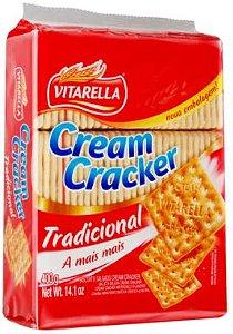 BISCOITO CREAM CRACKER - VITARELLA - 400g