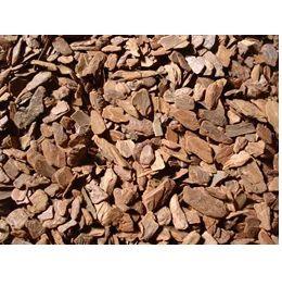 CASCA DE PINUS POLIDA PEQUENA - 1,4 KG - 7 KG