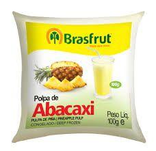 POLPA DE FRUTAS - BRASFRUT - PACOTE DE 100 GR
