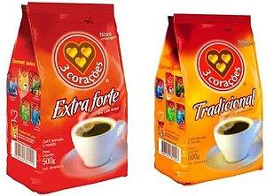 CAFE - 3 CORAÇOES - 500g
