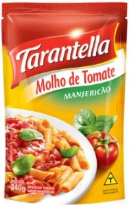 MOLHO TOMATE POUCH - TARANTELLA - 340g