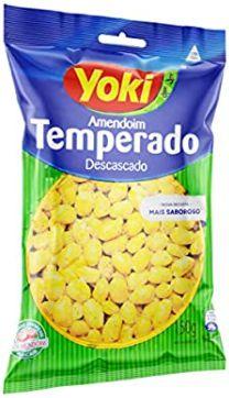AMENDOIM DESCASCADO TEMPERADO - YOKI - 150g