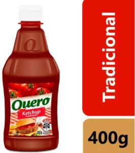 KETCHUP TRADICIONAL - QUERO - 400g
