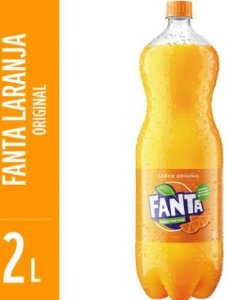 REFRIGERANTE DE LARANJA - FANTA - 2L