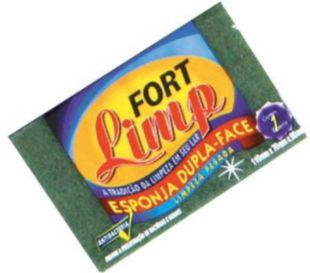 ESPONJA DUPLA FACE - FORT LIMP - 1un