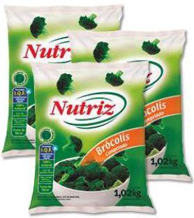 BROCOLIS CONGELADO - NUTRIZ - 1,02kg