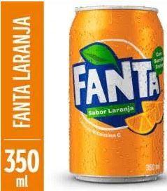 Refrigerante de laranja - Fanta