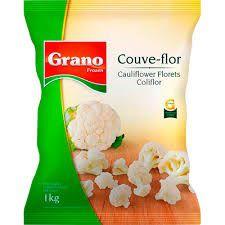 COUVE - FLOR CONGELADO - GRANO - 1 KG
