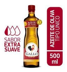 AZEITE GALLO - TIPO UNICO - VERMELHO - 500 ML