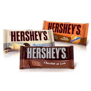 Chocolate em barra - Hersheys