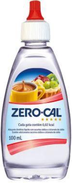 Adoçante liquido - Zero cal