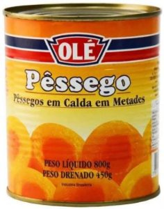 PESSEGO EM CALDA - OLE - 450g