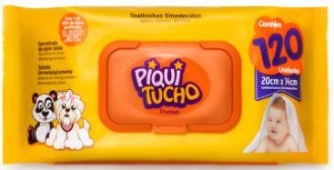 TOALHA UMEDECIDA - PIQUITUCHO - 60un