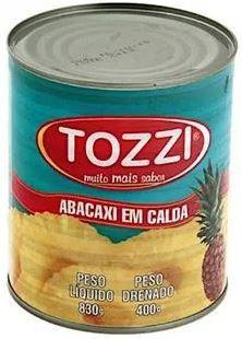 Abacaxi em calda - Tozzi - 400g