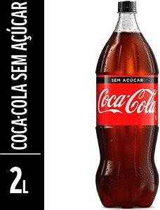 Refrigerante sem açucar - Coca cola