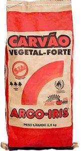 CARVAO VEGETAL PREMIUM - ARCO IRIS - 2,95kg