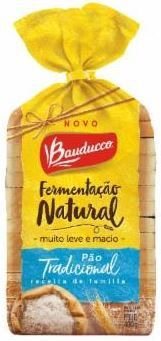PAO DE FORMA TRADICIONAL - BAUDUCCO - 400g