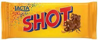 CHOCOLATE SHOT - LACTA - 90g