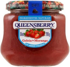 GELEIA DIET - QUEENBERRY - 280g