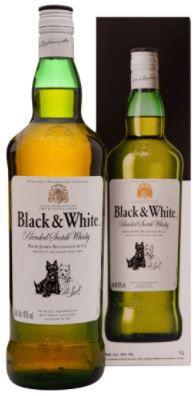 WHISKY - BLACK WHITE - 1L