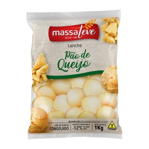 Pao de queijo - Massa leve
