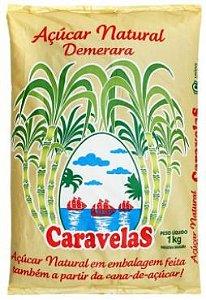 Açucar demerara - Caravelas - 1kg
