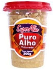 ALHO TRITURADO - PURO ALHO