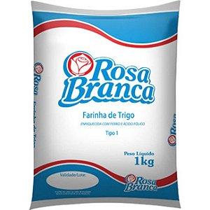Farinha de trigo branca tipo 1 - Rosa branca
