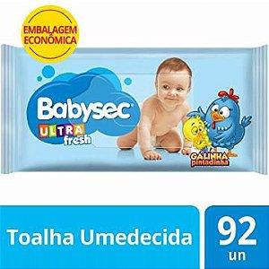 Toalha umedecida ultrafresh - Babysec